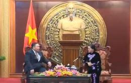 Phó Chủ tịch Quốc hội Nguyễn Thị Kim Ngân tiếp Tổng kiểm toán quốc gia Mông Cổ