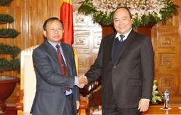 Phó Thủ tướng Nguyễn Xuân Phúc tiếp đoàn xóa đói giảm nghèo Lào