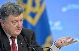 Tổng thống Ukraine thị sát Donetsk
