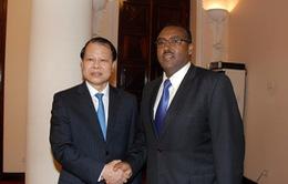 Việt Nam - Ethiopia ưu tiên hợp tác thương mại, nông nghiệp