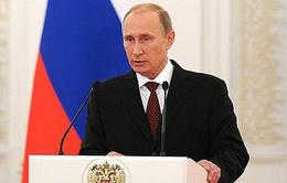 Vấn đề Ukraine được đề cập đầu tiên trong Thông điệp Liên bang của ông Putin