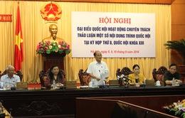 Đại biểu Quốc hội chuyên trách thảo luận nhiều nội dung quan trọng
