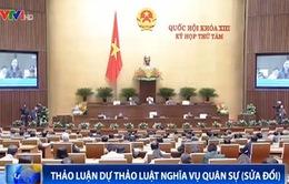 Thời hạn phục vụ tại ngũ 24 tháng: Nhiều đại biểu QH đồng tình