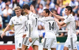 Deportivo 2-8 Real: Ronaldo lập hat-trick thứ 23 cho Los Blancos