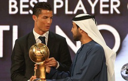 Hay nhất thế giới ở Globe Soccer, Ronaldo mơ về QBV FIFA