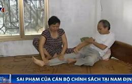 """Nam Định: Cán bộ xã """"vòi tiền"""", ăn chặn tiền chính sách"""