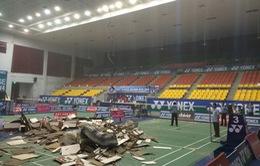 Bộ Xây dựng yêu cầu xử lý vụ sập trần nhà thi đấu Phan Đình Phùng