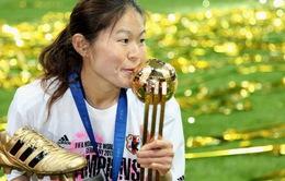 Nữ Nhật Bản vắng sao vô địch World Cup, Champions League