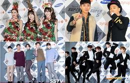"""Sao Hàn đua nhau """"khoe sắc"""" tại SBS Gayo Daejun 2014"""