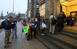 Những hình ảnh đầu tiên về cuộc trưng cầu dân ý tại Scotland