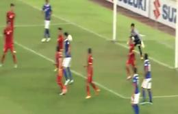 Quả penalty gây tranh cãi trong trận Malaysia - Việt Nam