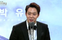 """Giải Rồng xanh 2014: Park Yoochun đoạt giải """"Nam diễn viên mới xuất sắc nhất"""""""