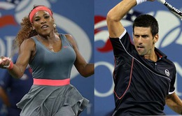 """Djokovic và Serena nhận giải thưởng """"chốt hạ"""" năm 2014"""