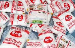 Hà Tĩnh phát hiện 14kg bột ngọt Ajinomoto giả