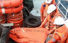 Tiếp tục tìm kiếm thuyền viên tàu Phúc Xuân 68 mất tích