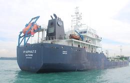 Tàu VP ASPHALT 2 bị cướp biển tấn công đãvề đến Đồng Nai