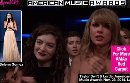 Taylor Swift nức nở vì Selena tại AMAs 2014