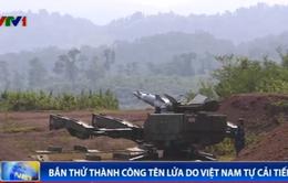 Bắn thử thành công tổ hợp tên lửa phòng không do Việt Nam tự cải tiến