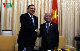 Chủ tịch Ủy ban châu Âu giao lưu với DN tại TP.HCM