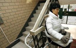 """Thang máy """"ghế"""" - Phát minh độc đáo tại Thượng Hải"""