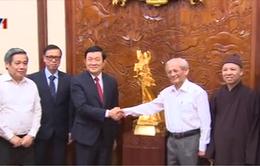 """Chủ tịch nước tiếp BTC dự án """"Hào khí Thăng Long – Vì hòa bình thịnh vượng"""""""