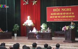 Bộ trưởng Phùng Quang Thanh tiếp xúc cử tri tỉnh Hưng Yên