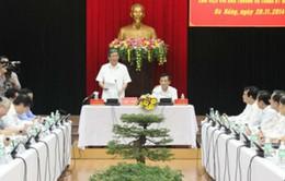 Tiểu ban Văn kiện Đại hội XII làm việc với Đà Nẵng