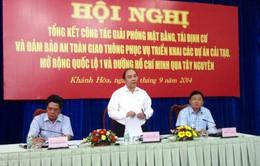 Dự án QL1 và đường Hồ Chí Minh: 20/22 tỉnh bàn giao 100% mặt bằng