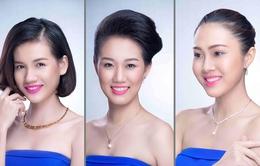 Cận cảnh nhan sắc 12 người đẹp Hoa khôi áo dài Việt Nam 2014