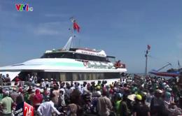 Thông tàu huyện đảo Lý Sơn sau 4 ngày cô lập