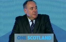 Thủ hiến Scotland từ chức sau thất bại trưng cầu dân ý