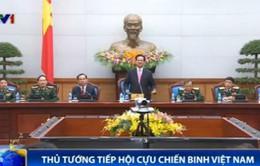 Thủ tướng tiếp đoàn đại biểu tiêu biểu cựu chiến binh