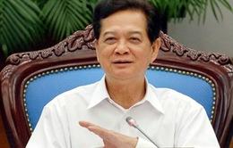 Thủ tướng tiếp các nhà báo tham dự Hội nghị thường niên Mạng thông tin châu Á