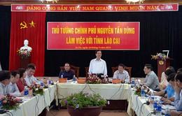 Thủ tướng làm việc với tỉnh Lào Cai về quy hoạch xây dựng đô thị Sapa