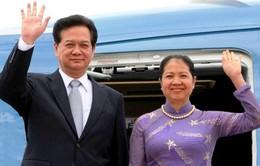 Thủ tướng Nguyễn Tấn Dũng lên đường thăm chính thức Ấn Độ