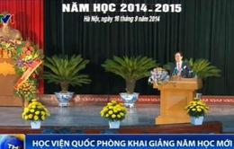 Thủ tướng dự lễ khai giảng năm học mới của Học viện Quốc phòng