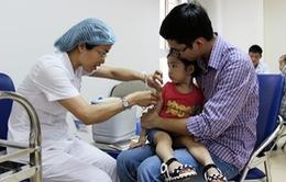 Tháng 9, tiêm vaccine sởi, rubella miễn phí cho trẻ