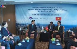 Thủ tướng Nguyễn Tấn Dũng tiếp các doanh nghiệp Hàn Quốc