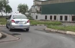 Tiếp diễn tình trạng tiêu cực trong thi lấy bằng lái xe ôtô