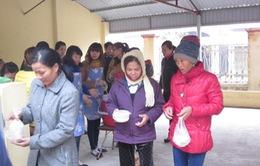 Bữa ăn miễn phí cho bệnh nhân nghèo vùng cao
