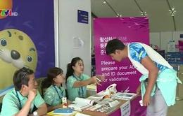 ASIAD 17: Tình nguyện viên Hàn Quốc gây ấn tượng mạnh