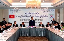 Thủ tướng Nguyễn Tấn Dũng dự Đối thoại với cộng đồng DN Hàn Quốc