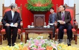 Việt Nam – Nhật Bản đẩy mạnh hợp tác đào tạo cán bộ