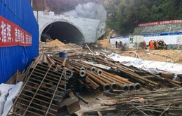 Trung Quốc: Sập đường hầm cao tốc, 21 người mắc kẹt