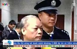 Trung Quốc: Thêm một quan chức bị kết án tử hình vì tham nhũng