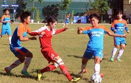 Sơn La nhộn nhịp trong lượt về giải bóng đá nữ U19 Quốc gia 2014