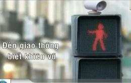 Đèn giao thông biết... nhảy múa