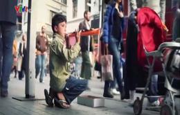 Trẻ tị nạn Syria nhọc nhằn mưu sinh