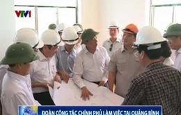 Phó Thủ tướng Hoàng Trung Hải kiểm tra Nhà máy xử lý nước thải Đức Ninh