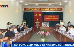 Hội đồng Giám mục Việt Nam trao 3 tỷ đồng ủng hộ Bộ đội Trường Sa
